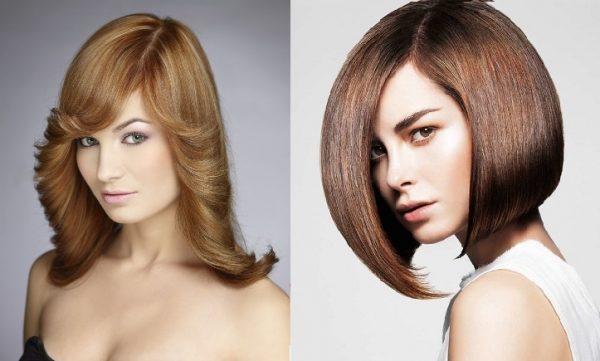 Разные варианты завивки кончиков волос