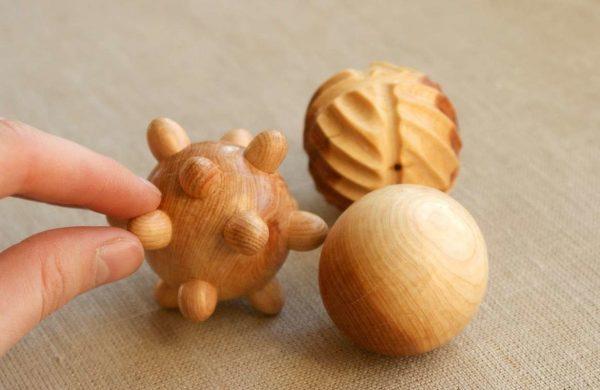 Массажные шарики