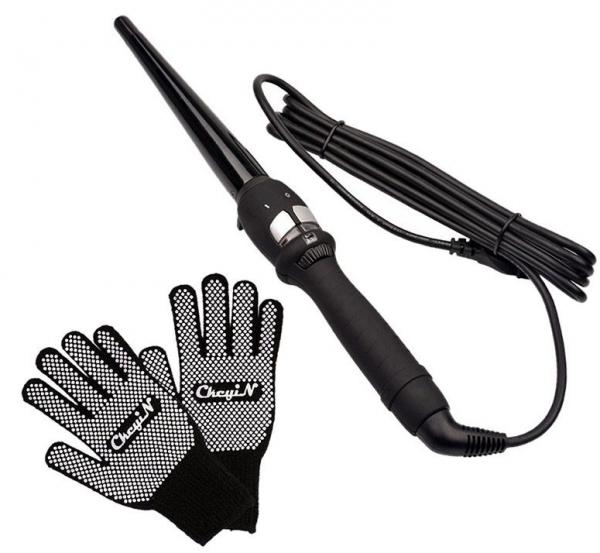 Конусный стайлер и перчатки
