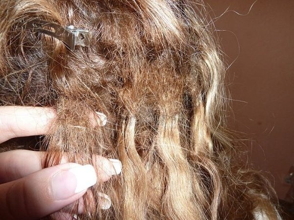 Колтуны на наращённых волосах