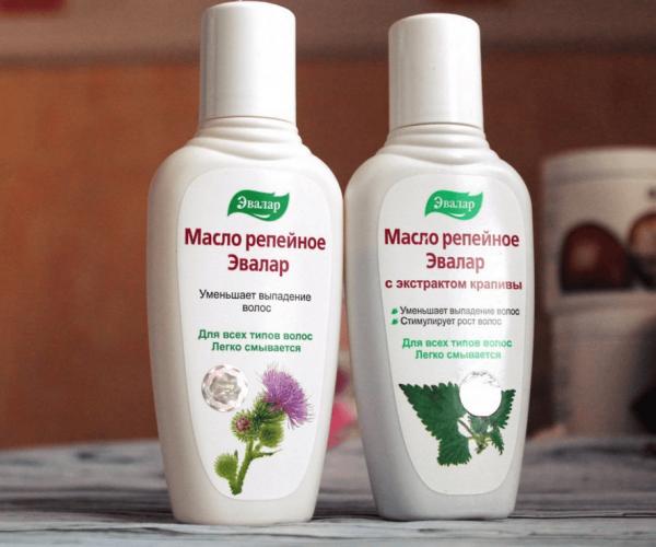 Репейное масло Эвалар — чистое и с экстрактами