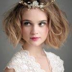 Свадебная причёска в небрежном стиле