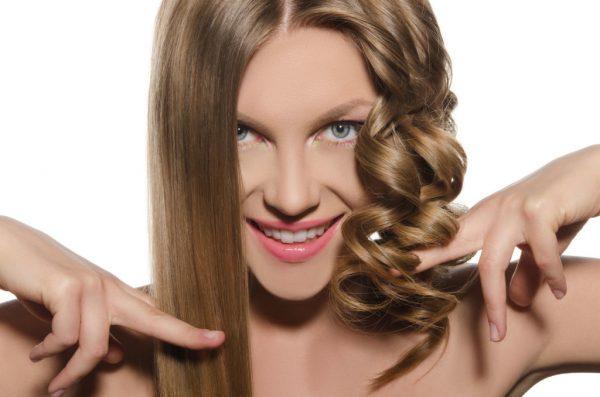 Прямые и вьющиеся волосы