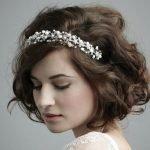 Обруч для свадебной причёски