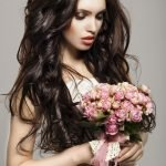 Длинные распущенные волосы
