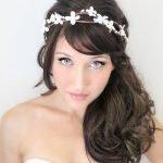 Невеста с чёлкой набок