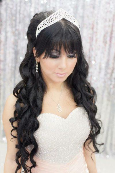 Невеста с чёлкой