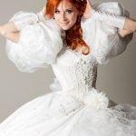 Яркий образ рыжей невесты