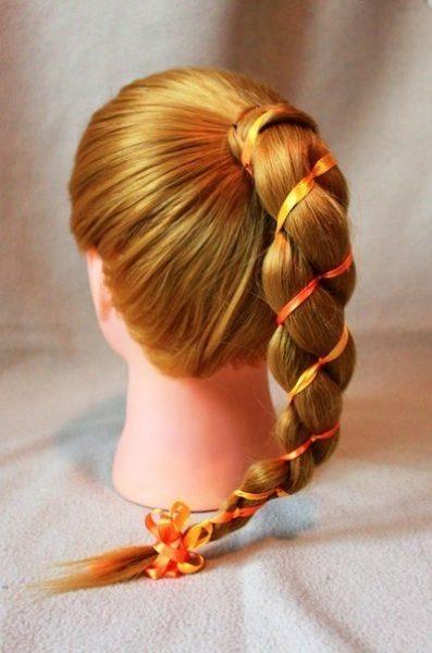 Трёхпрядная коса