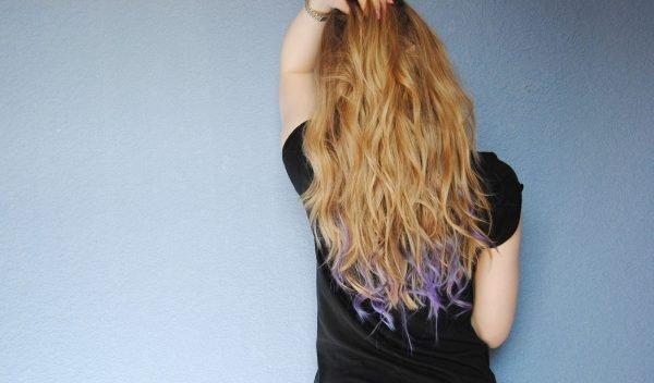 Карвинг на кончики волос