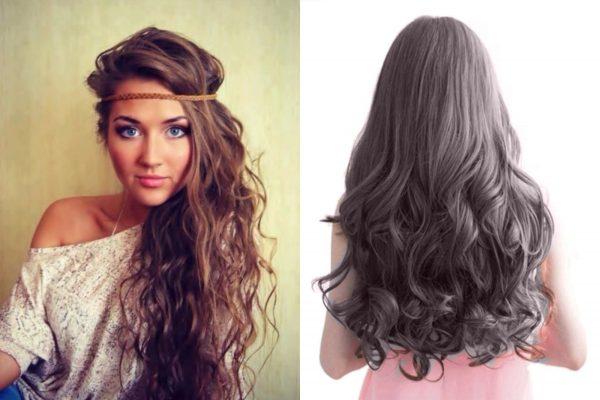 Варианты карвинга на длинные волосы