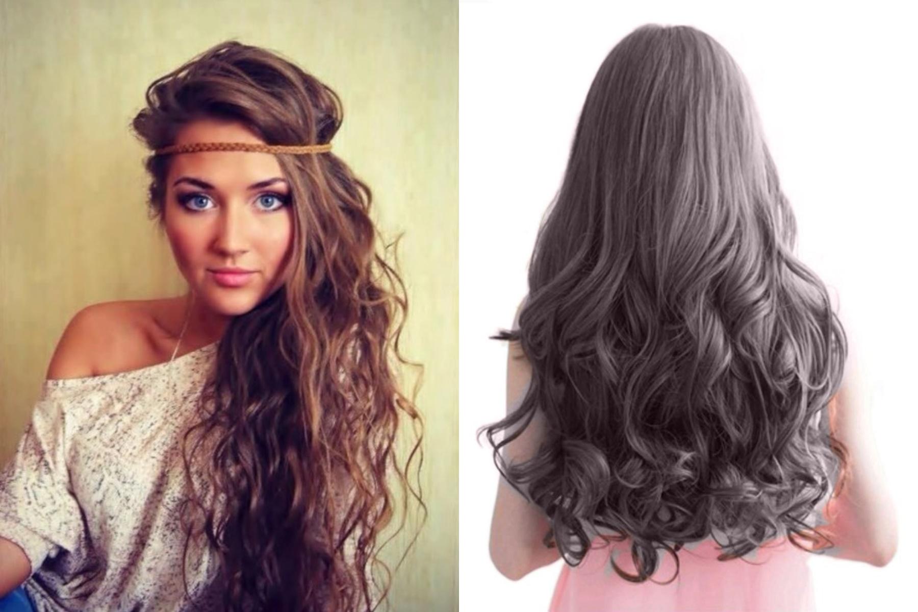 временем появилась накрученные волосы длинные фото на всю длину используются для