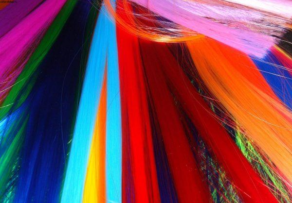 Разноцветный канекалон