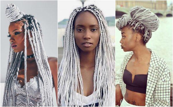 Варианты причёсок с афрокосами