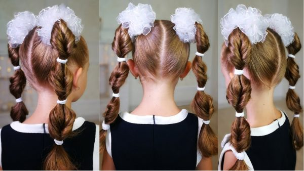 Причёска для 2 класса