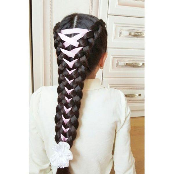 коса и ленты
