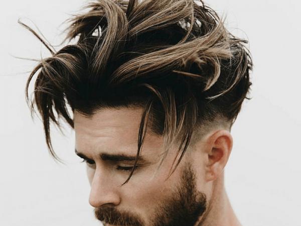Асимметричная мужская стрижка
