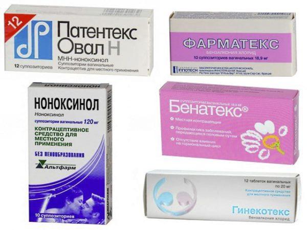 Упаковки с лекарствами