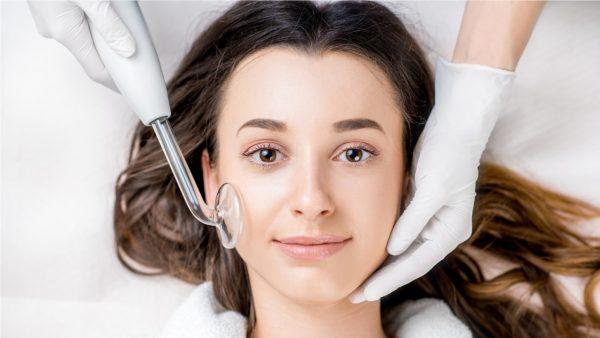 Дарсонвализация для кожи лица
