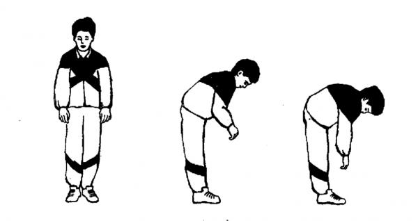 Выполнение упражнения «Насос»