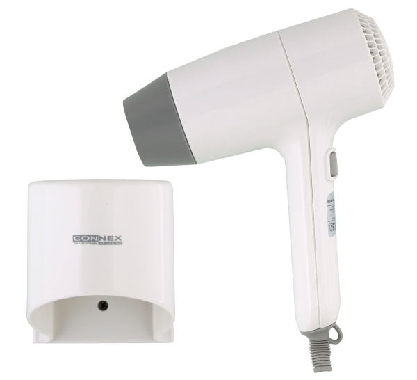 Фен для волос настенный Connex HAD-100–23A
