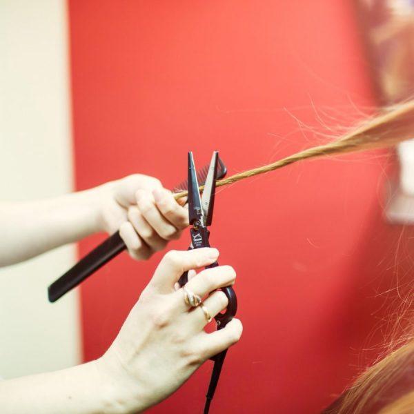 Срезание сухих волосков