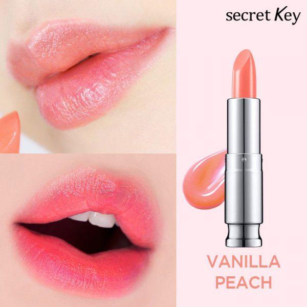 Тинт Sweet Glam Tint Glow от Secret Key на губах