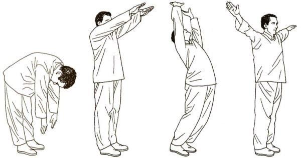 Упражнение «Держим луну»