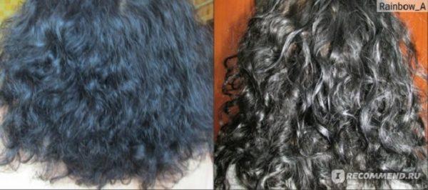 Волосы до и после 3 месяцев ковошинга