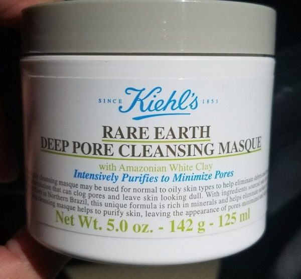 Маска Rare Earth Deep Pore Cleansing Masque от Kiehl's