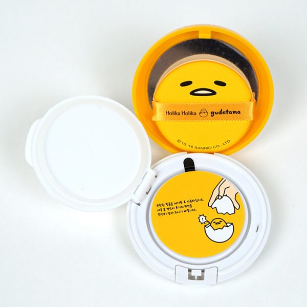 Кушон Gudetama Lazy & Easy Face 2 Change Photo Ready Cushion BB от Holika Holika