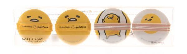 Спонжи для кушона Gudetama Lazy & Easy Face 2 Change Photo Ready Cushion BB от Holika Holika