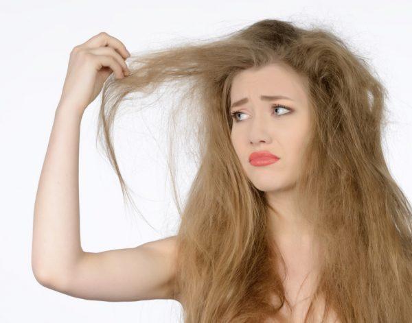 Повредлённые волосы
