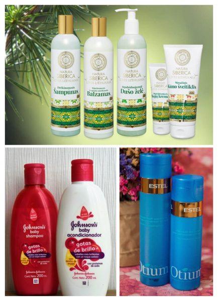 Примеры шампуней без сульфатов