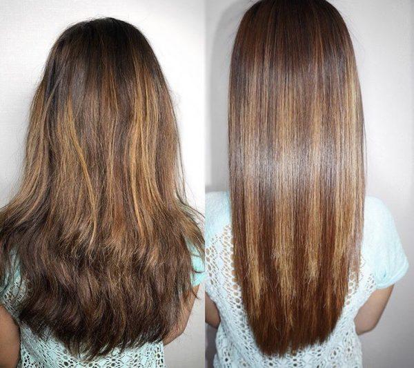 Эффективность нанопластики для волос