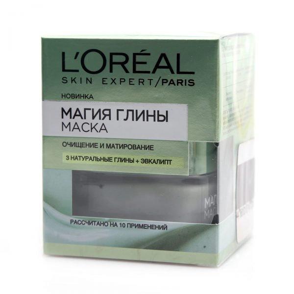 Очищающая маска «Магия глины» от L'oreal Paris в упаковке