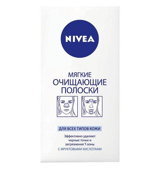 Мягкие очищающие полоски Nivea