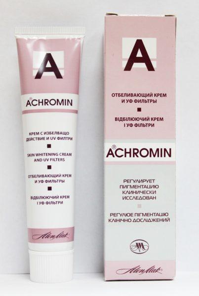 Крем Ахромин в упаковке