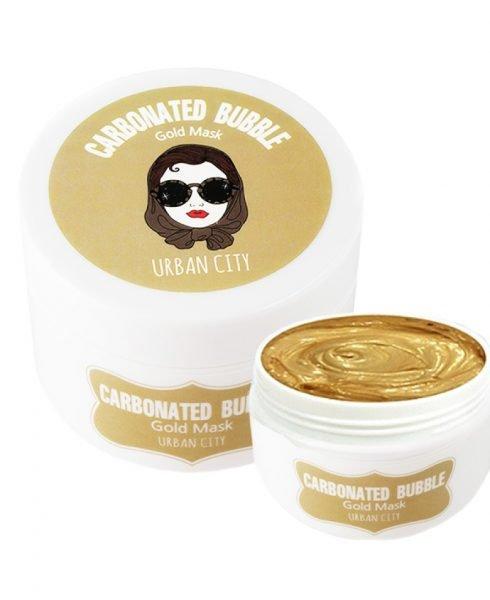 Очищающая пузырьковая маска с золотом Urban Dollkiss City Carbonated Bubble Gold Mask