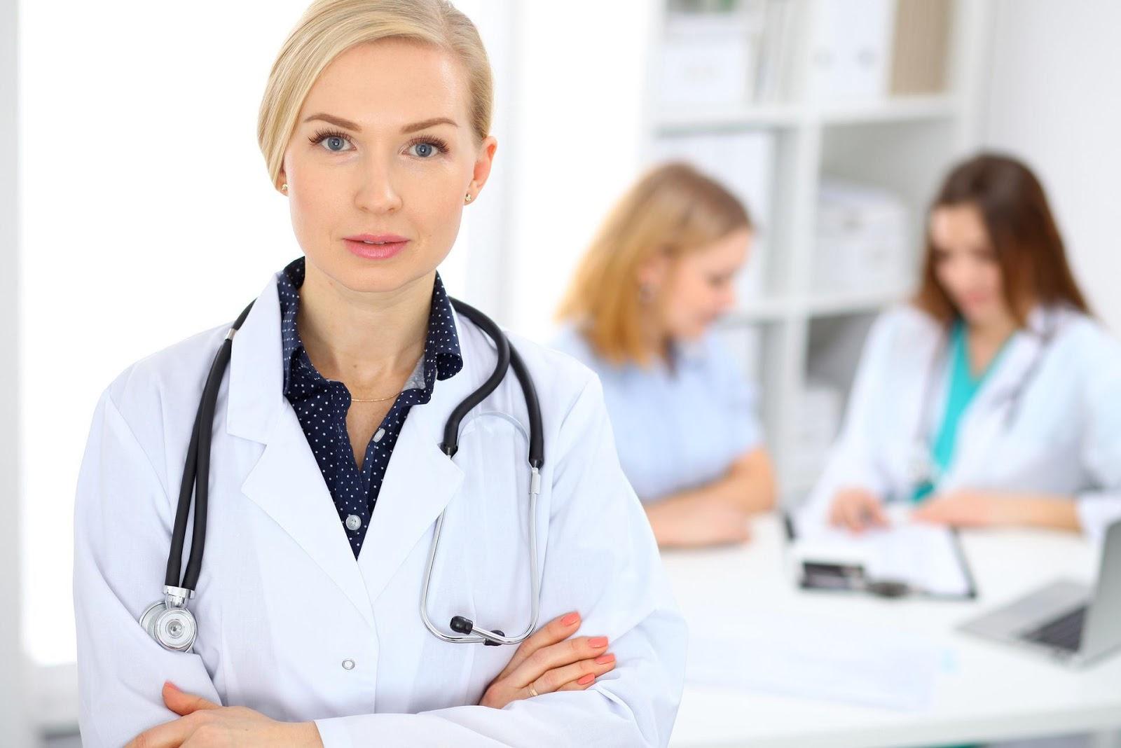 Картинка для врачей девушки