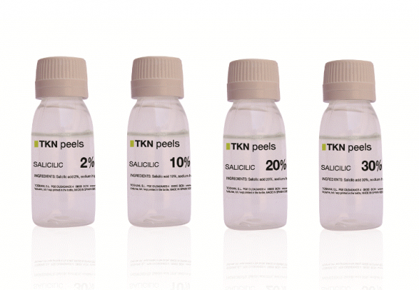 Растворы для пилинга с разным содержанием кислоты