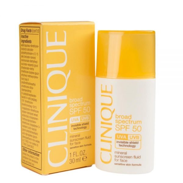 Mineral Sunscreen Fluid For Face SPF 50 от Clinique