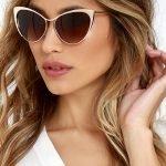 Очки с коричневыми стёклами