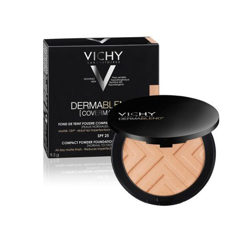 Vichy Dermablend (Covermatte) Компактная пудра для нормальной и жирной кожи SPF 25