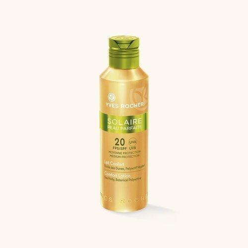 Yves-Rocher Солнцезащитное молочко для лица и те SPF 50+