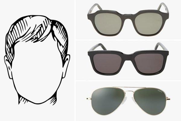 Круглая форма лица и очки, которые для неё подойдут