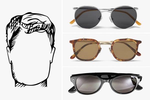 Квадратная форма лица и очки, которые для неё подойдут