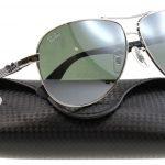 Мужские солнцезащитные очки каплевидной формы от Ray-Ban