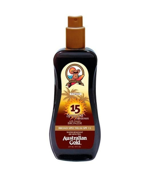 Australian Gold «SPF 15 Spray Gel with Bronzer»