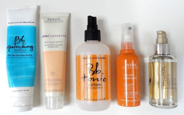 Средства для защиты волос от солнца